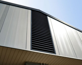 Cascade Series ® Fixed Aluminium Louvres