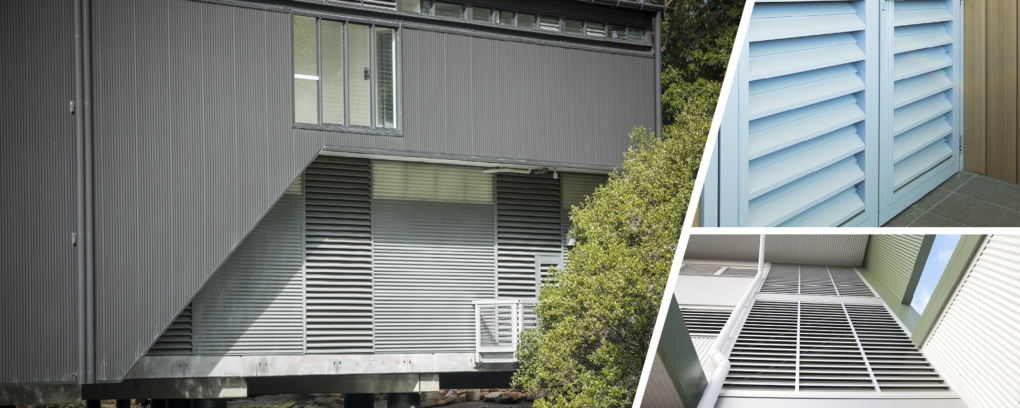 Nexus Series®  Single, Two-stage & Drainable Louvres