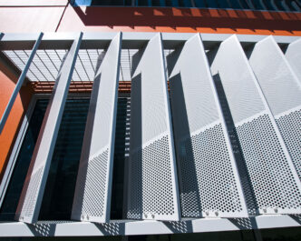 Polaris Series 174 Perforated Metal Screens Louvreclad Pty Ltd