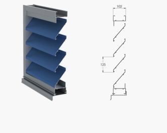 Jupiter Series ® Single, Two-stage & drainable louvres