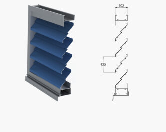 Nexus Series ®  Drainable Louvres