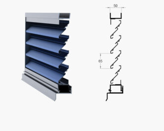 Orion Series ® External Louvres