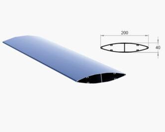 Wickham Series ® Elliptical louvres