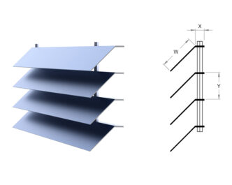 Mirage Series ® Louvres