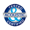 Louvreclad Certification Stamp - Acoustic -Delta