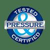 Louvreclad Certification Stamp - Pressure - Glacier