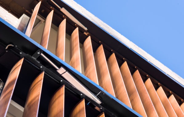 Bupa Aged Care - Operable Louvres
