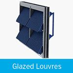 glazed louvres