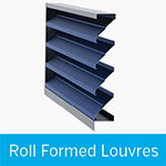 roll formed louvres