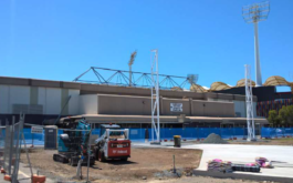 Operable Louvres for Carrara Sports Stadium