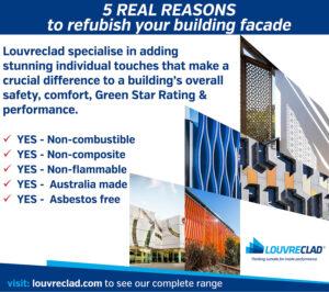 commercial refurb - building exteriors