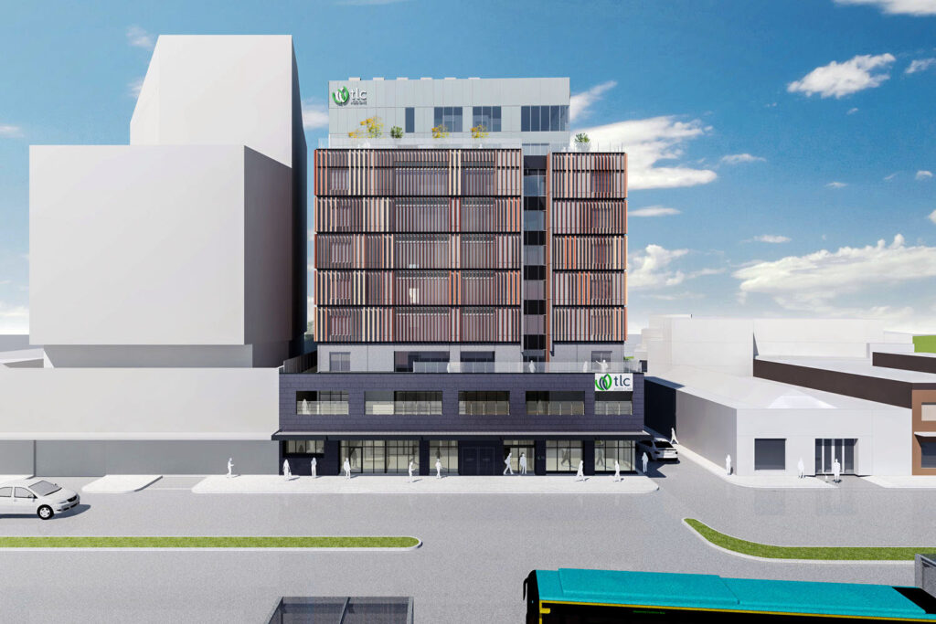 Clifton Hill TLC Aged Care facade solution 5