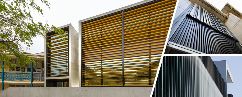 Wickham Series ® Elliptical louvres
