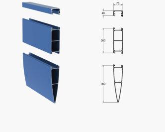 Sheraton Series ® External Aluminium Louvres