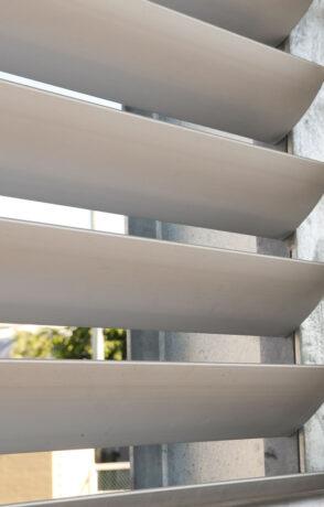 aluminium louvres