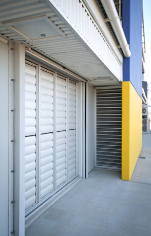 Louvred doors and grills