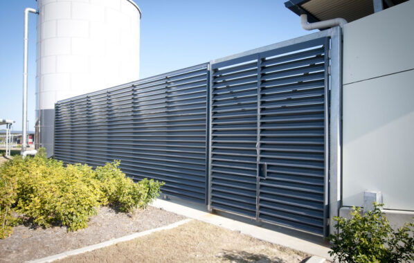 Louvred doors and privacy fencing