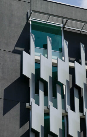 Sun Screens are an entire suite of elliptical screens, panels or bullet shaped screens