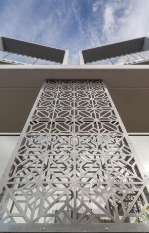 Polaris Series - Malvin Hill - perforated metal screens