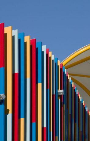architectural feature fins