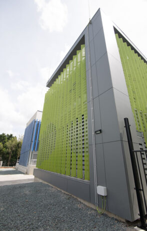 perforated screen system