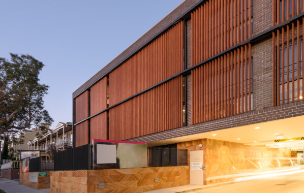 Louvreclad - Bupa Aged Care - Oxford Series 2 External Louvre
