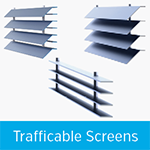 trafficable screens