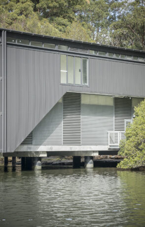 Linley Point Boatshed - Nexus Series 2 drainable louvre 1