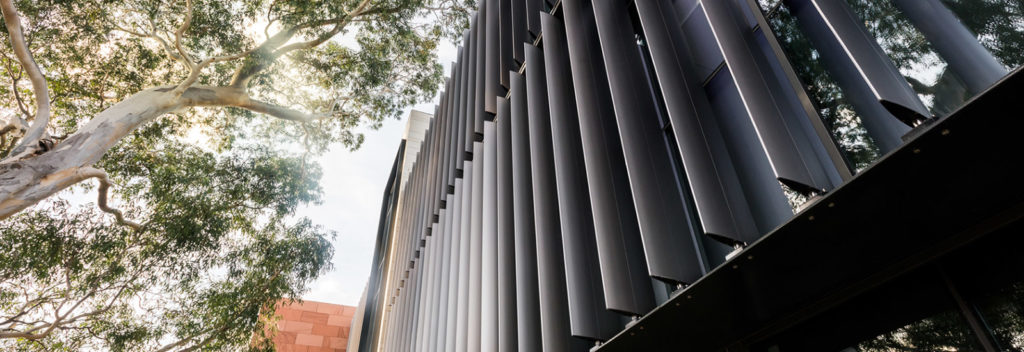 External ventilation louvres, Architectural Screens & Aluminium Facades